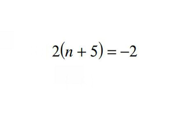 n = ?
