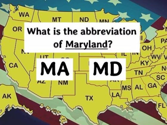 New Poll Shows Only 1 In 50 Americans Know The Abbreviations Of These 24 US States