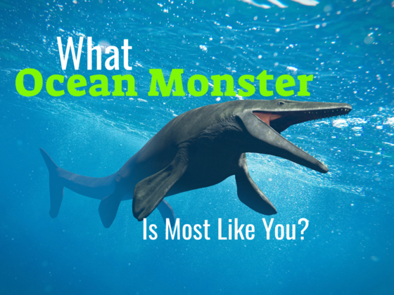 What Ocean Monster Is Most Like You? Find Your Spirit Creature Of The Deep!