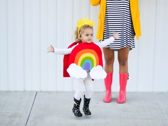 Dress A Toddler In Every Color Of The Rainbow, And We'll Tell You Your Parenting Personality!