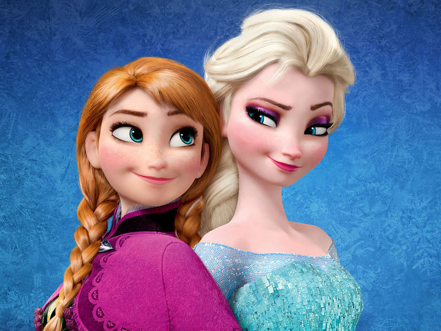 What is the first song in Frozen?