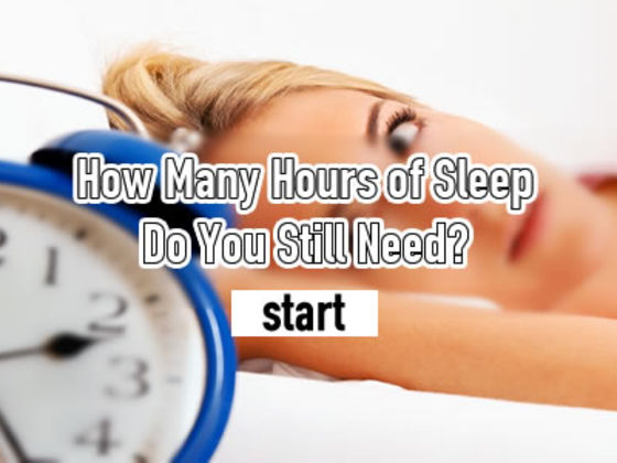 How Many Hours Of Sleep Do You Still Need?