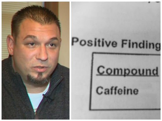 Tests Show This Man Charged With A DUI Only Had Caffeine In His System