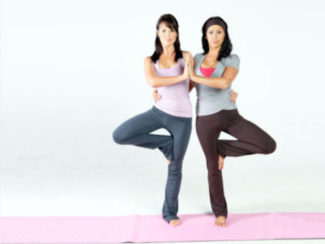 2 Person Yoga Poses For Kids Easy Abc News