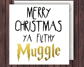 Harry Potter Christmas Card Ideas.Choose Some Harry Potter Christmas Stuff And We Ll Sort You