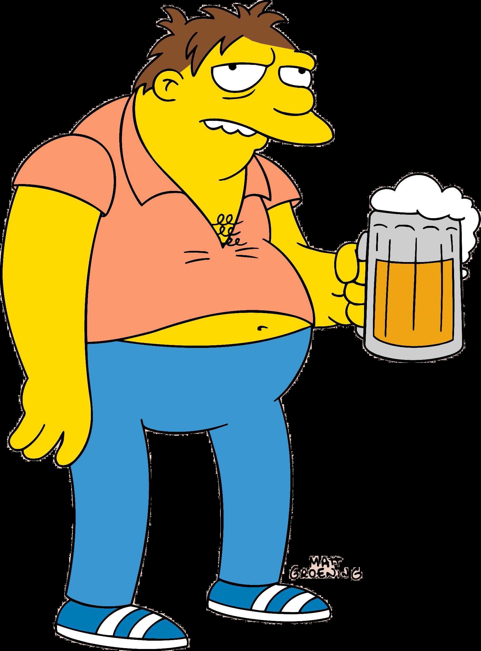 Barney Simpson Porn a qué personaje de 'los simpson' pertenece esta frase