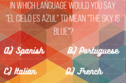 Only Linguists Will Be Able To Score 12/15 On This Romance Language Differentiation Test!
