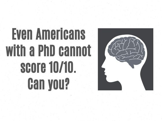 Nobody Can Score 10/10 In This World Facts & Stats Quiz!