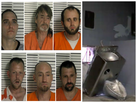 Six Tennessee Inmates Escaped Jail Through A Broken Toilet And Three Are Still At Large