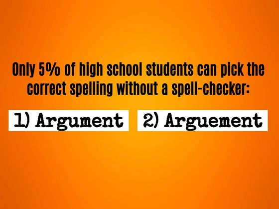 Can You Spell The 19 Everyday Words Only 5% Of High School Students Can?