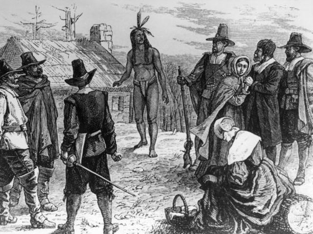 an introduction to the issue of american settlers and their killing of native americans Both the native americans and the english settlers used the land to their advantage, but they had different goals in mind the english settlers were more interested in creating civilizations and killing animals so they could make a profit.