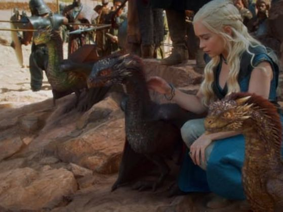 This Color Test Will Tell You Which Of Daenerys's Dragons You Are!
