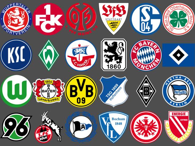 german football clubs logos - 12.000 vector logos